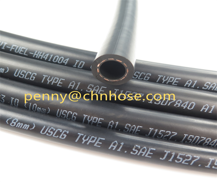 SAE J1527 TYPE A2 Fuel hose for connection of marine gasoline tank A4-192