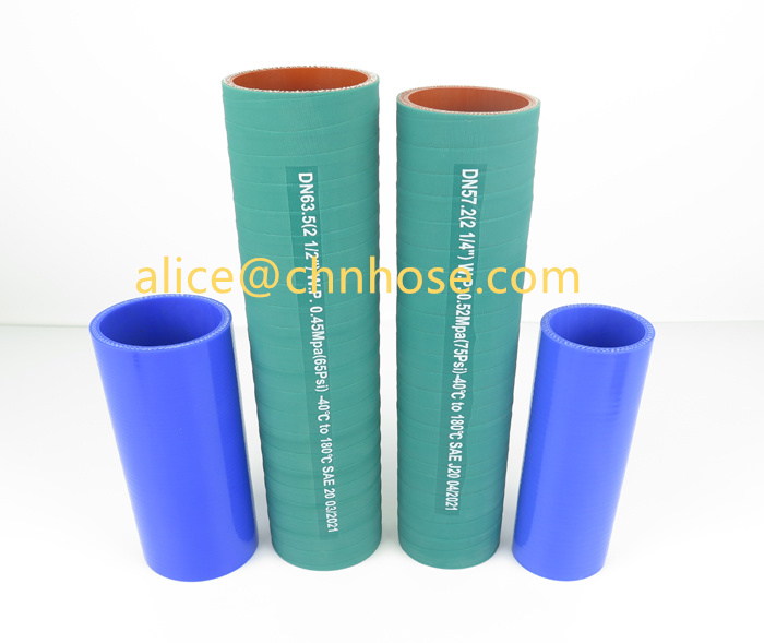 Silicone Straight Meter Hose