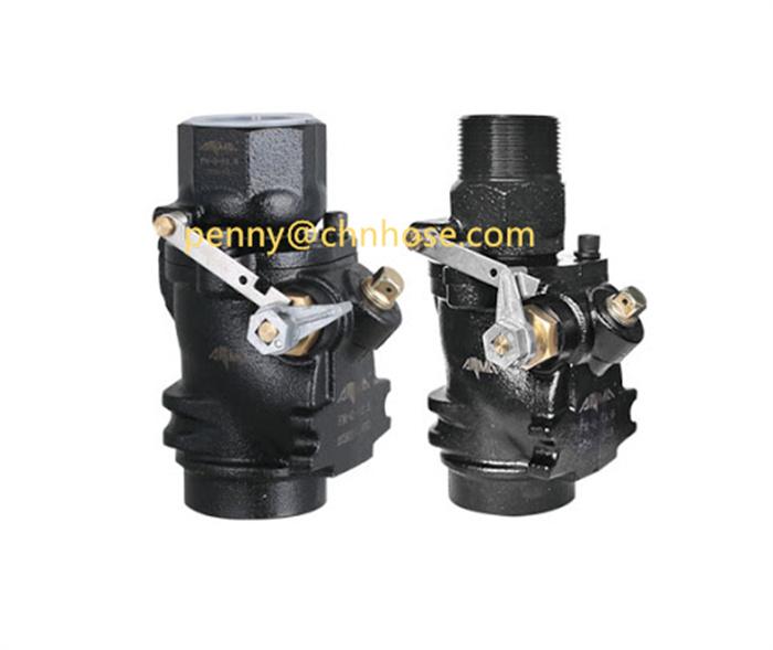 Emergency shut-off valve