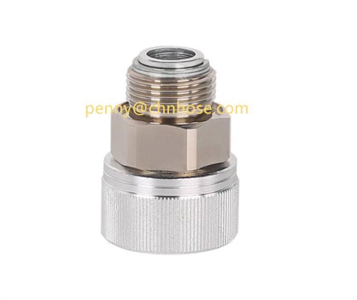 Variable diameter copper and aluminum rotary Fitting